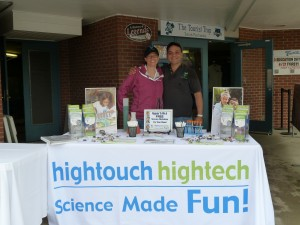 Terri & Dan, President of HTHT at the Asheville Tourists' Education Day Game