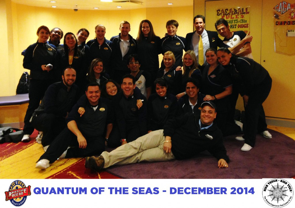 Royal Caribbean Cruise Lines- Quantum of the Seas, High Touch High